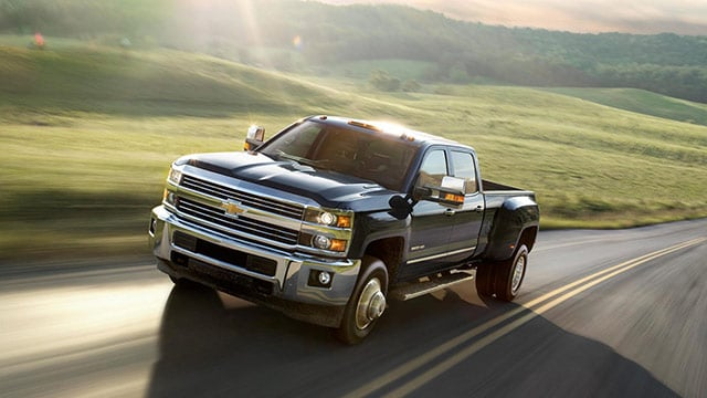 Used Chevy Silverado HD in Driving