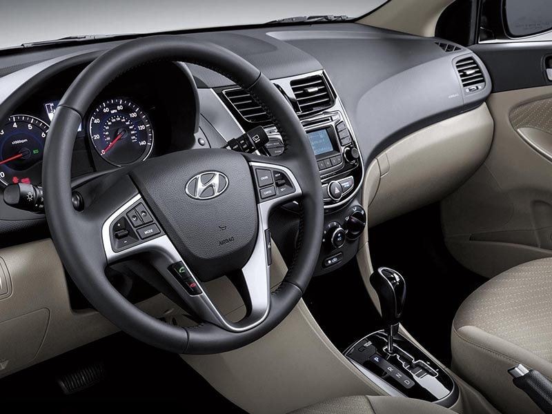 2017 Hyundai Accent Steering Wheel