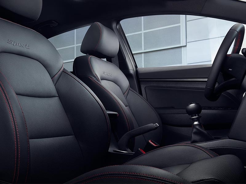 2017 Hyundai Elantra Interior Seating