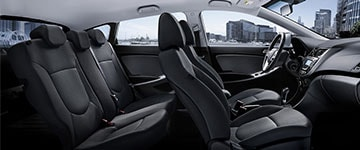 2017 Hyundai Accent Interior Seating