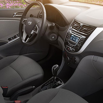 2017 Hyundai Accent Front Interior Seating