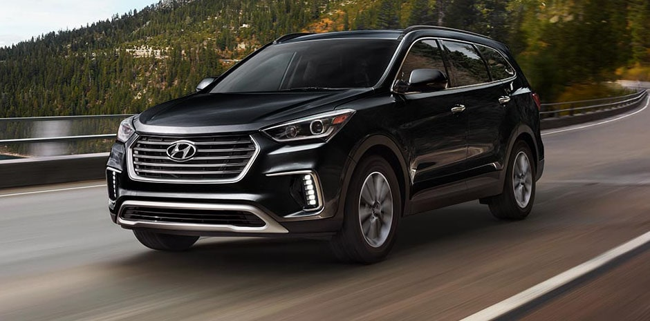 2017 Hyundai Santa Fe Becketts Black