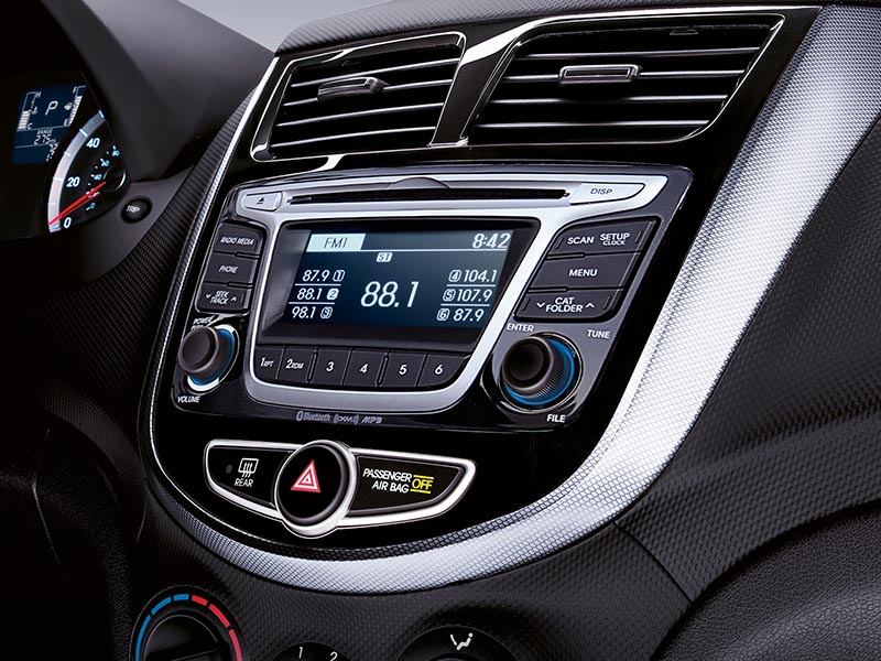 2017 Hyundai Accent Entertainment Center