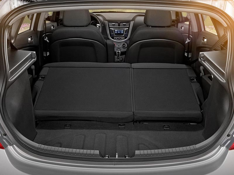 2017 Hyundai Accent Interior Cargo Space