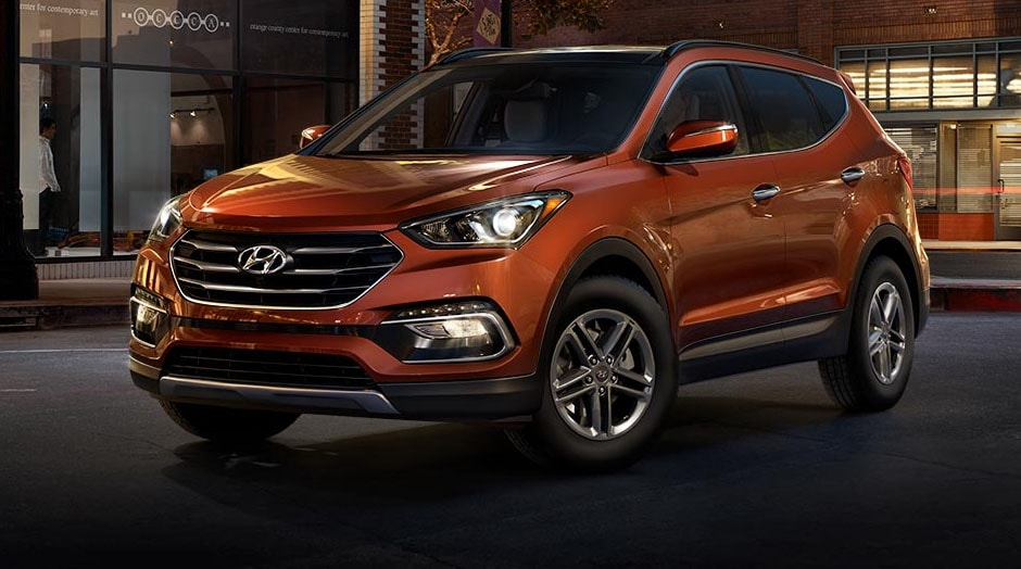 2017 Hyundai Santa Fe Sport Canyon Copper