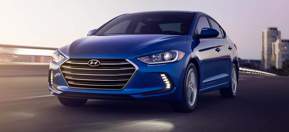 2017 Hyundai Elantra Electric Blue