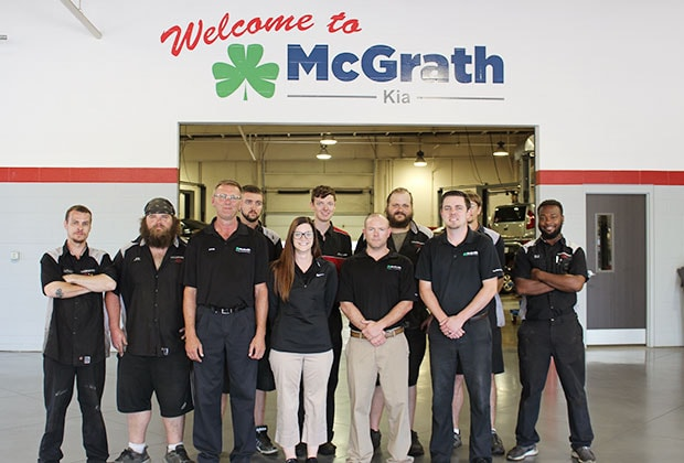 Mcgrath Cedar Rapids >> Kia Service And Parts Kia Service In Cedar Rapids Mcgrath Kia