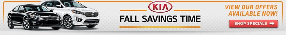 Kia Fall Savings Time