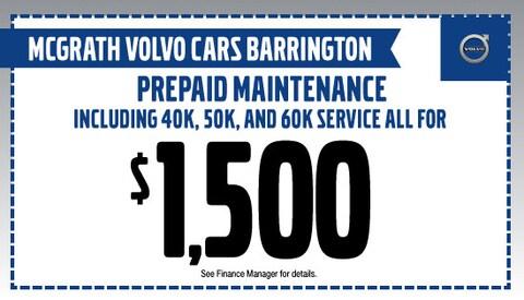 Pre-Paid maintenance