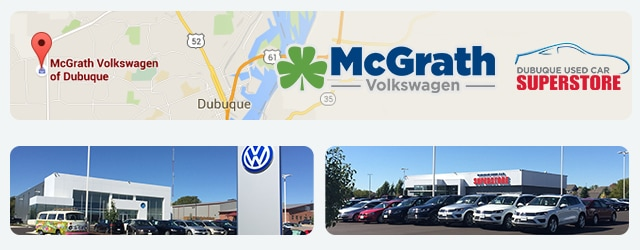 Directions to McGrath VW of Dubuque IA