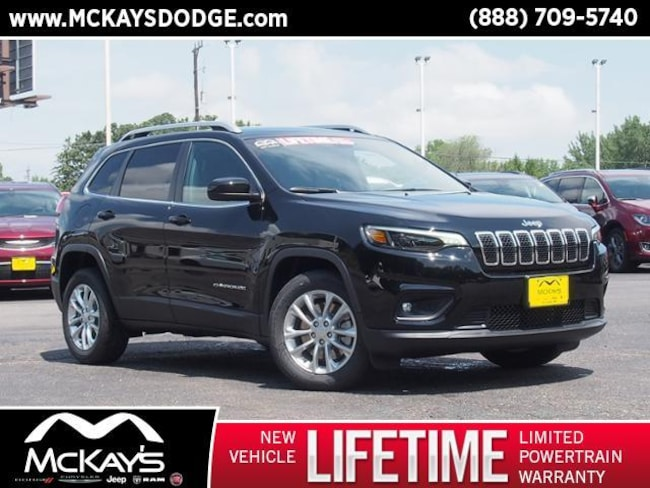 New 2019 Jeep Cherokee LATITUDE FWD Sport Utility For Sale/Lease Waite Park, MN