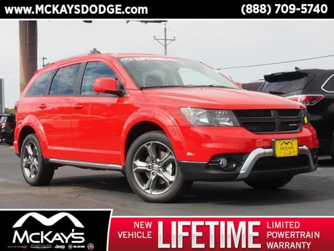 used 2017 dodge journey crossroad for sale waite park mn vin 3c4pddgg1ht706373. Black Bedroom Furniture Sets. Home Design Ideas