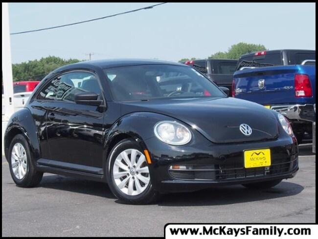 Used 2013 Volkswagen Beetle 2.5L Entry w/PZEV Hatchback For Sale Waite Park, MN
