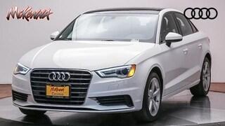 Used 2016 Audi A3 1.8T Premium Sedan for sale near Los Angeles, CA at McKenna Audi