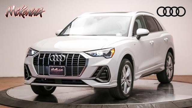 New 2020 Audi Q3 S Line Premium 45 Tfsi Quattro Sport Utility for sale near LA at McKenna Audi