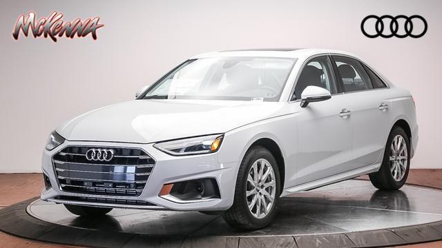 New 2020 Audi A4 40 Premium Sedan for sale at McKenna Audi - Serving L.A.