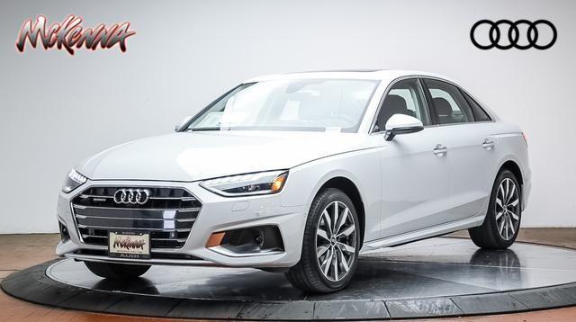 New 2022 Audi A4 40 Prestige Car for sale at McKenna Audi - Serving L.A.