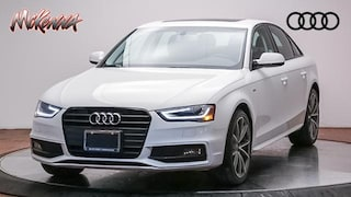 Certified 2016 Audi A4 2.0T Premium (Multitronic) Sedan for sale at McKenna Audi - serving LA