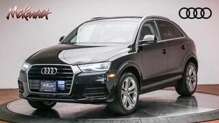 Certified 2017 Audi Q3 2.0T Premium Plus SUV for sale at McKenna Audi - serving LA
