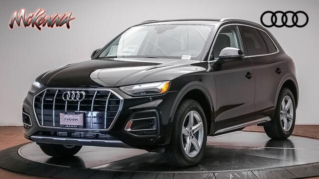 New 2021 Audi Q5 45 Premium SUV for sale at McKenna Audi - Serving L.A.
