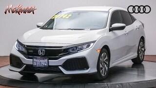 Used 2017 Honda Civic Hatchback LX Hatchback Near LA