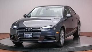 Certified 2017 Audi A4 2.0T ultra Premium Sedan for sale at McKenna Audi - serving LA