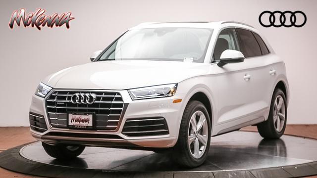 New 2020 Audi Q5 45 Premium SUV for sale at McKenna Audi - Serving L.A.