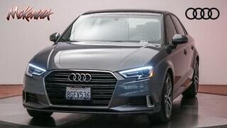 Used 2018 Audi A3 2.0T Premium Sedan for sale near Los Angeles, CA at McKenna Audi