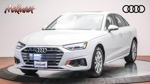 New 2020 Audi A4 Premium 40 Tfsi Car for sale at McKenna Audi - Serving L.A.