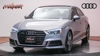 Used 2018 Audi A3 2.0T Premium Plus Sedan for sale near Los Angeles, CA at McKenna Audi