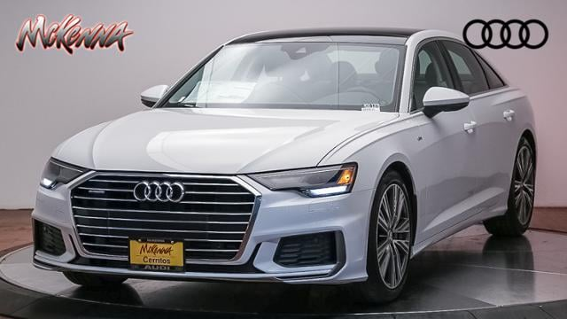 New 2019 Audi A6 Premium 55 Tfsi Quattro Car for sale at McKenna Audi - Serving Los Angeles