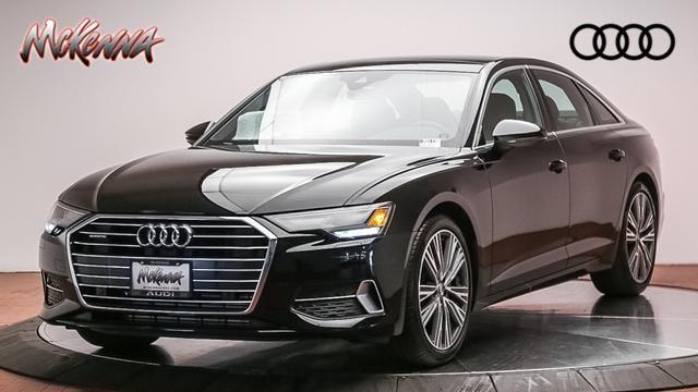 New 2020 Audi A6 Premium 45 Tfsi Quattro Car for sale at McKenna Audi - Serving Los Angeles