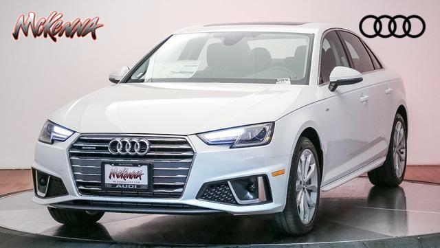 New 2019 Audi A4 2.0T Premium Sedan for sale at McKenna Audi - Serving L.A.