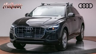 New 2019 Audi Q8 3.0T Premium SUV Near LA