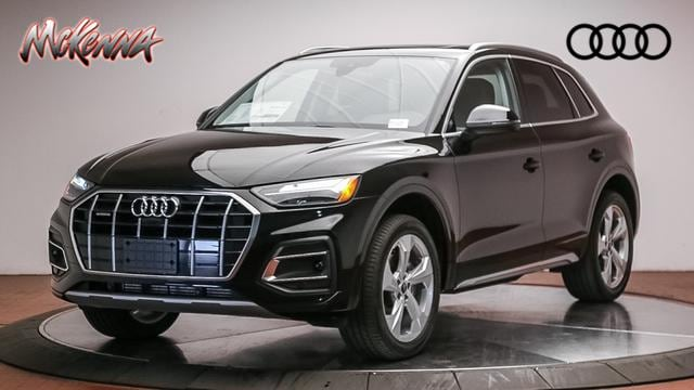 New 2021 Audi Q5 45 Premium Plus SUV for sale at McKenna Audi - Serving L.A.
