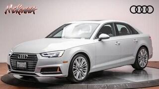 Used 2019 Audi A4 2.0T Premium Plus Sedan for sale near Los Angeles, CA at McKenna Audi