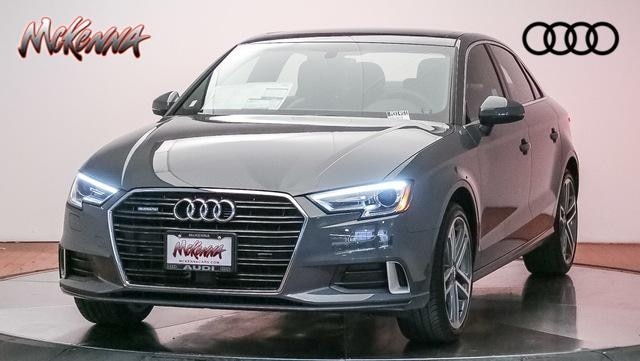 New 2019 Audi A3 2.0T Premium Sedan for sale at McKenna Audi - Serving Los Angeles
