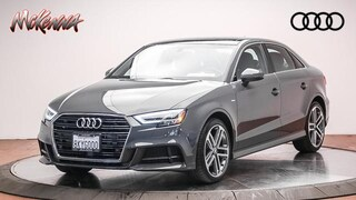 Used 2019 Audi A3 2.0T Premium Plus Sedan for sale near Los Angeles, CA at McKenna Audi
