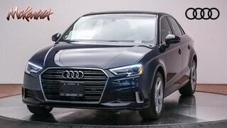 New 2019 Audi A3 Premium 40 Tfsi Sedan Near LA