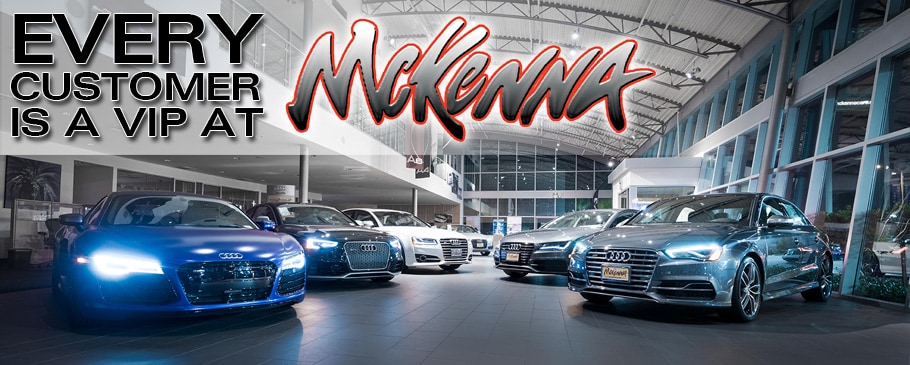 About McKenna Audi New Audi Dealer Near LA Long Beach Orange County - Mckenna audi