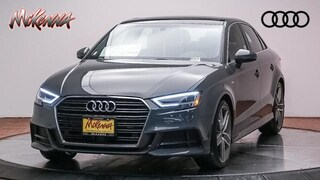 New 2019 Audi A3 Premium Plus 40 Tfsi Sedan Near LA