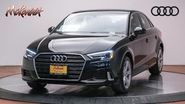 New 2019 Audi A3 2.0 Tfsi Premium FWD Sedan Near LA