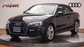 New 2018 Audi A3 Cabriolet 2.0T Tech Premium Convertible Near LA