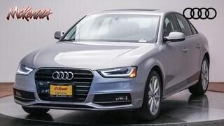 Certified 2016 Audi A4 2.0T Premium Plus Sedan for sale at McKenna Audi - serving LA
