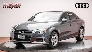 Used 2017 Audi A3 2.0T Premium Sedan for sale near Los Angeles, CA at McKenna Audi