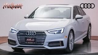 Used 2018 Audi A4 2.0T Premium Sedan Near LA