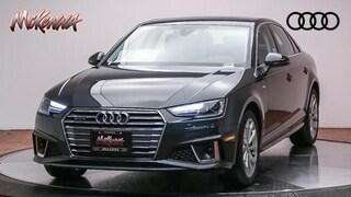 New 2019 Audi A4 2.0 Tfsi Premium S Tronic Quattro A Sedan Near LA