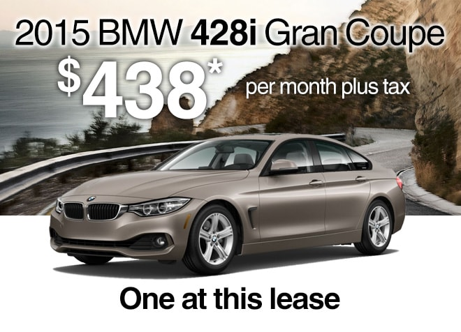 Lease a 2015 BMW 428i Gran Coupe McKenna BMW