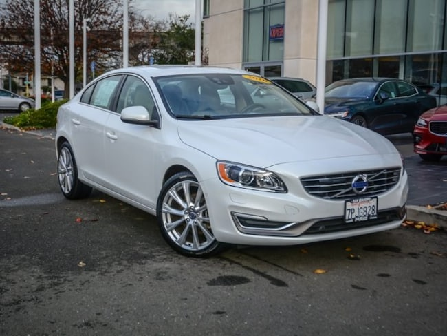 Certified Used 2016 Volvo S60 Inscription T5 Sedan LYV402FM7GB086024 in San Leandro, CA