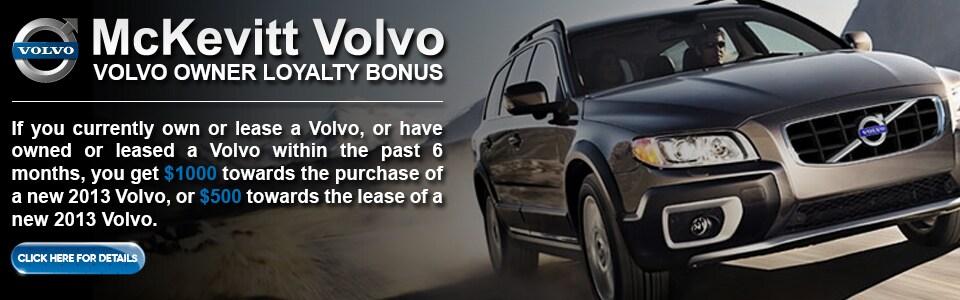 bay area volvo owner loyalty program | mckevitt volvo cars san leandro